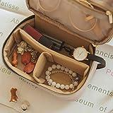 BAGSMART Small Travel Jewelry Organizer Box