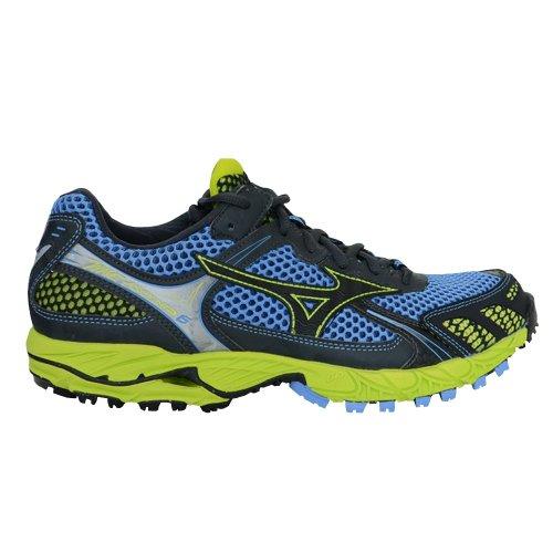 Mizuno - Zapatillas para correr en montaña para mujer azul azul