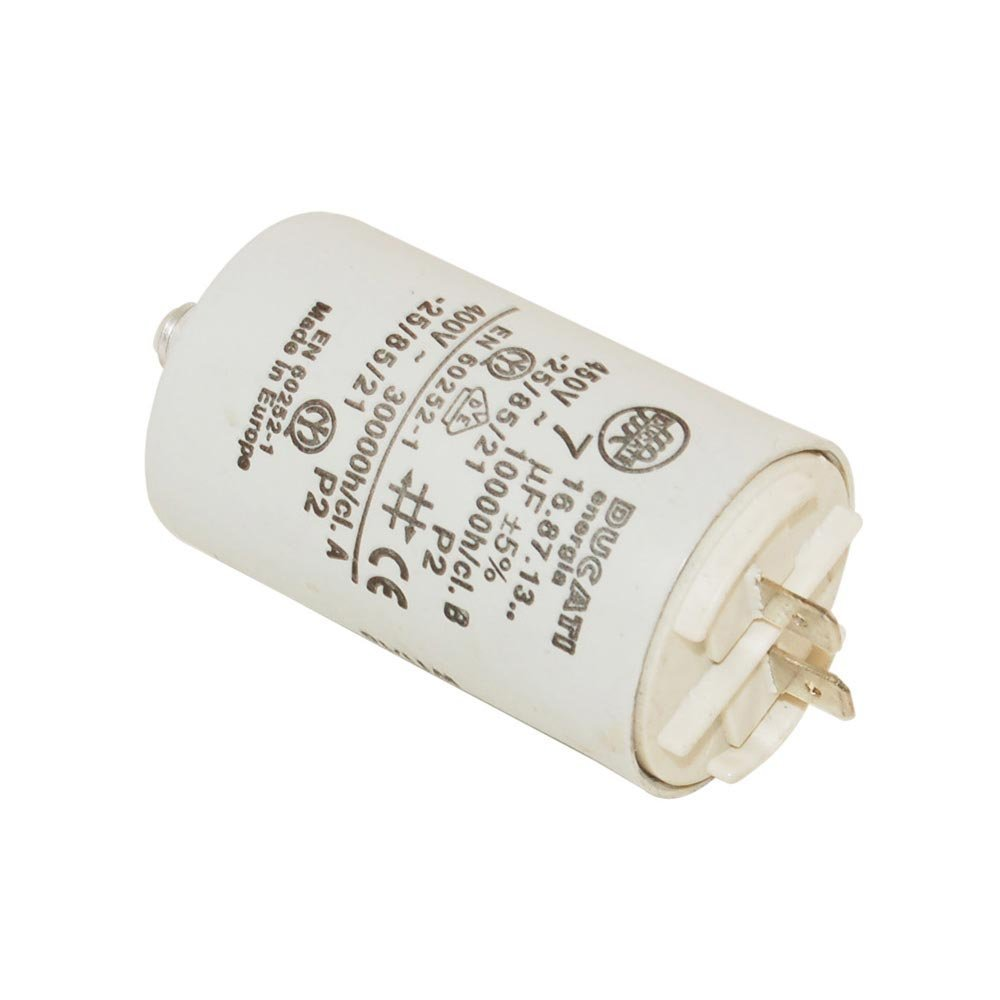 Creda Ariston Indesit Hotpoint Proline Tumble Dryer Capacitor 7Uf. Genuine Part Number C00199432
