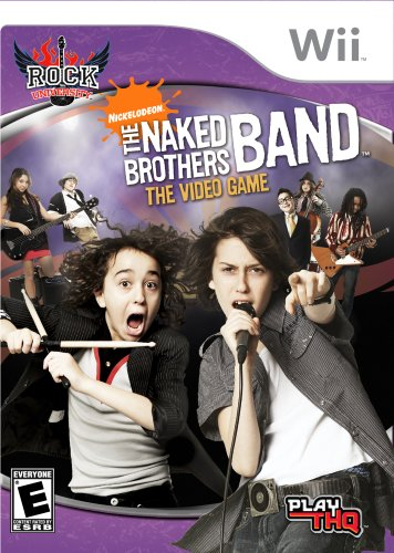 - Rock University Presents: The Naked Brothers Band The Video Game - Nintendo Wii
