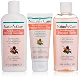 Nature's Cure Anti-Acne Skin Care System Kit, Papaya