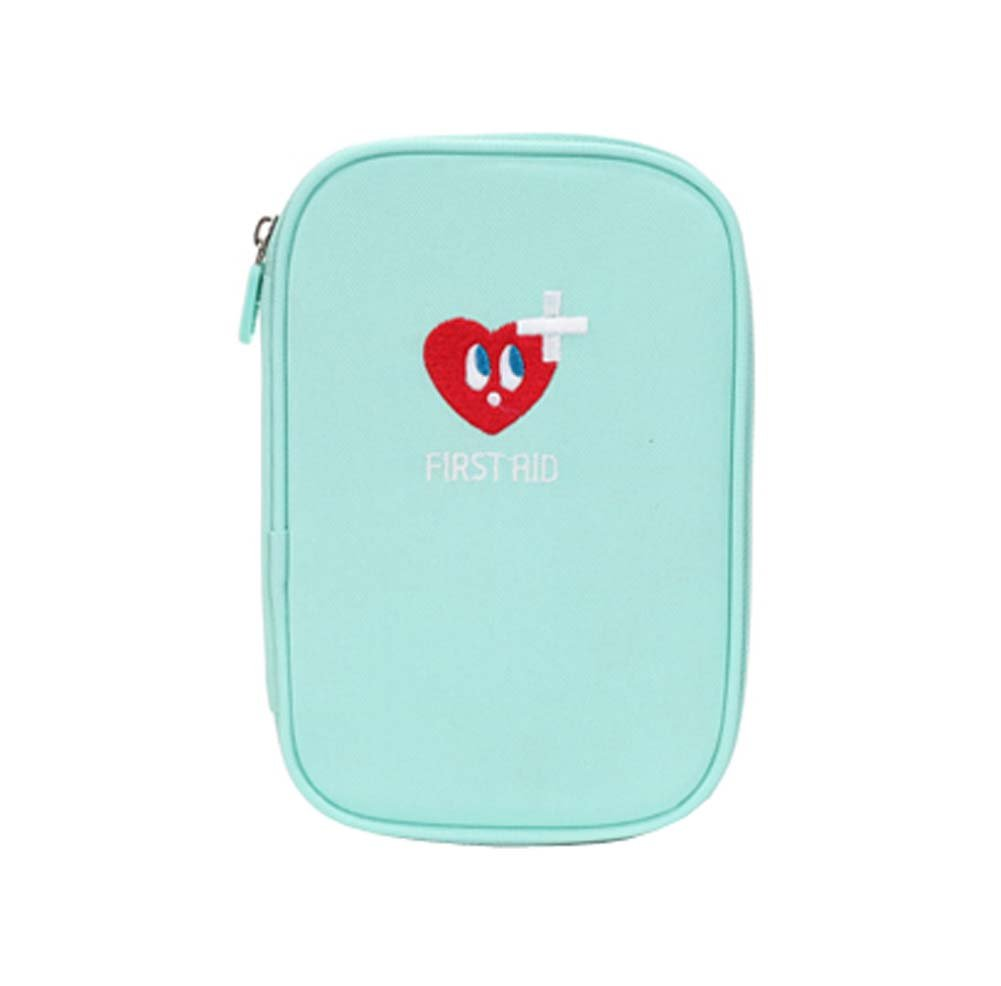Home/School/Travel First Aid Kit Portable Medical Package,Blue