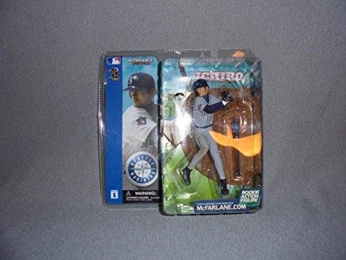 McFarlane Toys MLB Sports Picks Series 1 Action Figure Ichiro Suzuki (Seattle Mariners) White Jersey (1 Figure Series Pick Mcfarlane)
