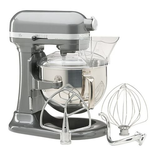 KitchenAid Professional 600 Series 6-Quart Stand Mixer, Silver