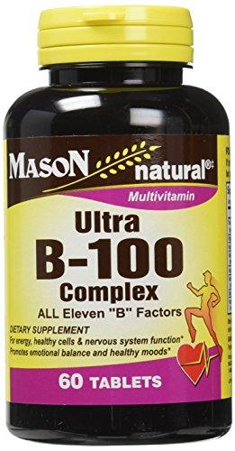 Mason Vitamins Ultra B 100 Complex All Eleven