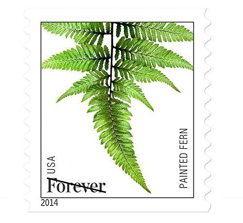 Ferns A Roll of 100 x Forever U.S. Postage Stamps USPS NEW
