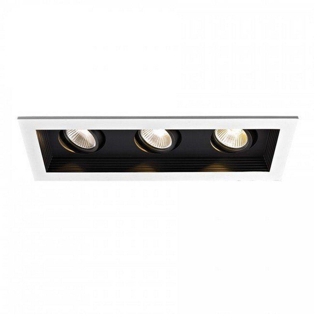 WAC Lighting MT-3LD311R-F930-BK Remodel 1 Light Mini LED Multiple Spot, 90 Circuit