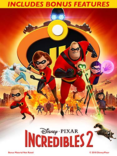Incredibles 2 (With Bonus) -
