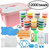 Beads Toy Water Fuse Beads Kit 12000 Pieces Magic