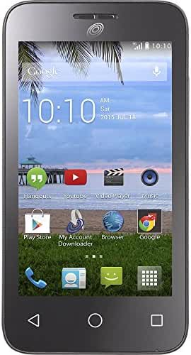 Tracfone Alcatel Onetouch Pixi Pulsar No Contract Phone - Retail Packaging (AT&T) TFALA460GP4