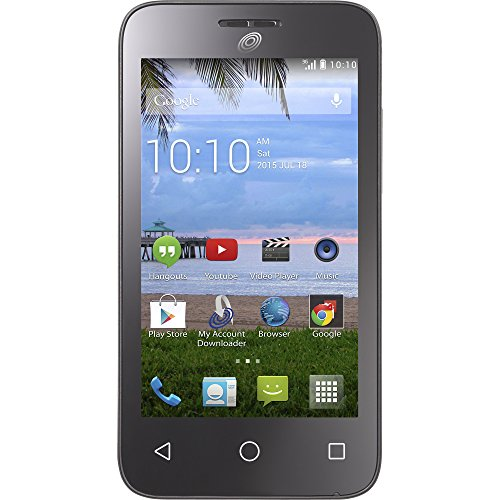 Tracfone Alcatel Onetouch Pixi Pulsar No Contract Phone – Retail Packaging (AT&T) TFALA460GP4