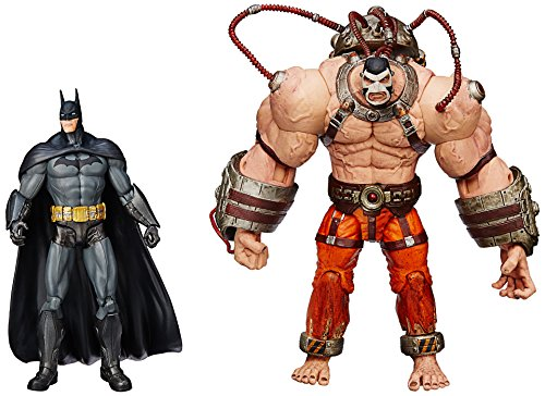 DC Collectibles Batman: Arkham Asylum: Bane vs. Batman Action Figure, 2-Pack