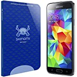 Samsung Galaxy S5 Screen Protector (Galaxy S V), Skinomi® Tech Glass Screen Protector for Samsung Galaxy S5 Clear HD and 9H Hardness Ballistic Tempered Glass Shield with Lifetime Warranty