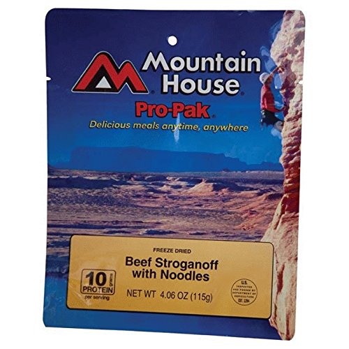 Mountain House Beef Stroganoff with Noodles Pro-Pak (Mountain House Dehydrated Food)