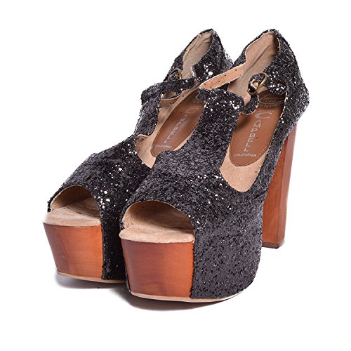 Jeffrey Campbell - Zapatos de vestir para mujer negro negro 39