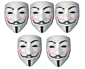 Buy Fancy Steps V For Vendetta Comic Face Mask Anonymous Guy