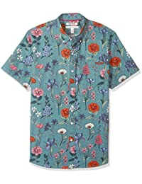 Men's Standard-Fit Short-Sleeve Printed Shirt