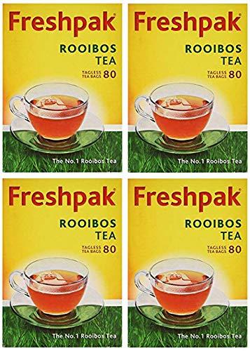 Freshpak Rooibos Tea 80 Tagless Bags (4 X Pack) by PackFresh