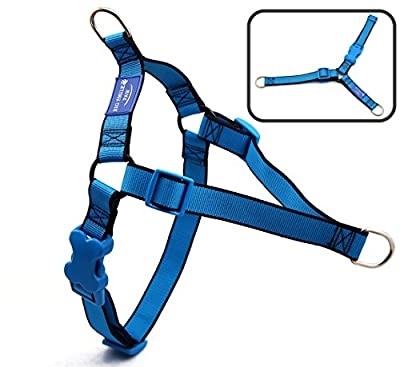 BIG SMILE PAW Adjustable Dog Harness No-Pull,Front Leash Clip Dog Harness for Walking and Training
