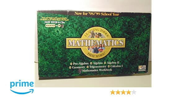 Amazon.com: Pro One Mathematics: Pre-Algebra, Algebra 1, Algebra 2 ...