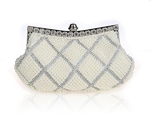 bolsos de diamantes de imitación/moldeado del embrague/paquete de banquete de la moda/bolsos de noche de alto grado/paquete de novia/paquete de dama de honor-B A