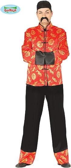 Guirca Rudy Disfraz Chino Mandarina, Color Rojo, Talla única ...