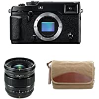 Fujifilm X-Pro2 Body Professional Mirrorless Camera (Black) + XF16mmF1.4 R WR + Domke F-5XB Camera Bag