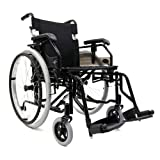 Karman Healthcare LT-K5 18'' Seat Width Ultra Lightweight Wheelchair with Remo...