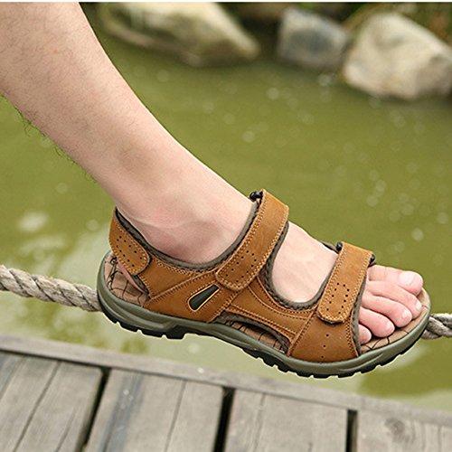 Lightbrown Grandi Da Sandali MYXUA Dimensioni Da Casual Da Scarpe Trekking Uomo Sandali Da Di Spiaggia Estivi Uomo HvqB7avw