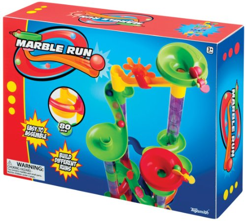Toysmith 4645 80 Piece Marble Run