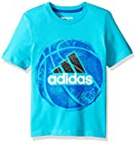 adidas Boys' Short Sleeve Active Tee Shirt