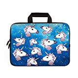 11' 11.6' 12' 12.1' 12.5' inch Laptop Carrying Bag Chromebook Case Notebook Ultrabook Bag Tablet Cover Neoprene Sleeve Fit Apple MacBook Air Samsung Google Acer HP DELL Lenovo Asus (Many Unicorns)