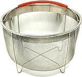 Instant Pot Steamer Basket Accessories fits IP 6qt, 8qt, Other...