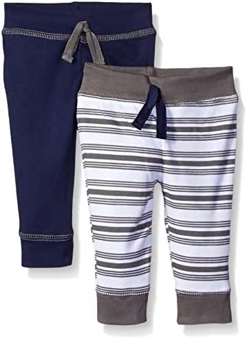 Yoga Sprout Baby Boys' 2 Pack Pants
