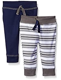 Yoga Sprout baby-boys Baby 2 Pack Pants