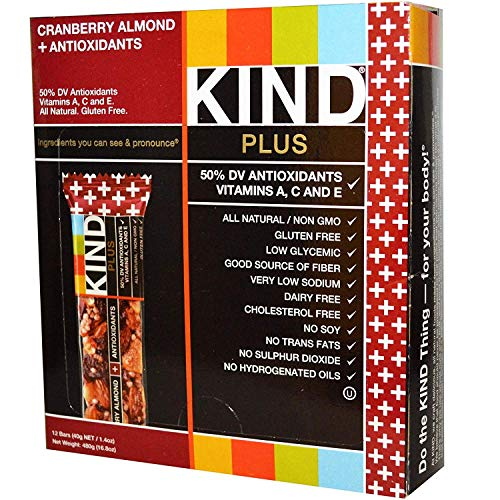 Kind Pls Cranbrry Almnd C Size 12ct Kind Pls Cranberry Almond Caddy 12ct