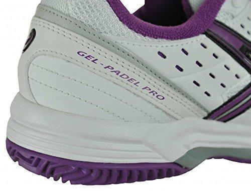 Asics Gel Padel Pro 2 SG mujeres zapatilla deporte tenis Fitness zapatos blanco, Tamaño:EU/36-UK/3.5-US/5.5-CM/22.75: Amazon.es: Zapatos y complementos