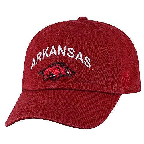 Elite Fan Shop Arkansas Razorbacks Hat Arch - Razorback Cap