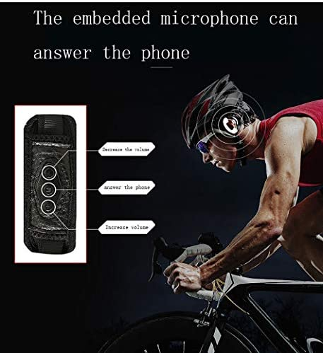 Long Casco de Bicicleta, Casco de música Bluetooth Integrado Casco ...