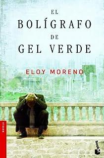El bolígrafo de gel verde par Moreno