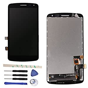 "Draxlgon LCD Display Touch Screen Digitizer Assembly For L G Q6 K Series K5 X220 X220MB X220DS X220G 5.0"" (black)"