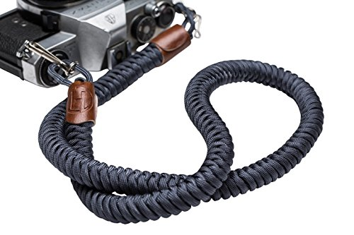 Helix Camera Strap - DSLR Camera Neck Straps 34 Inches - Paracord Design - 100% Handmade, Blue