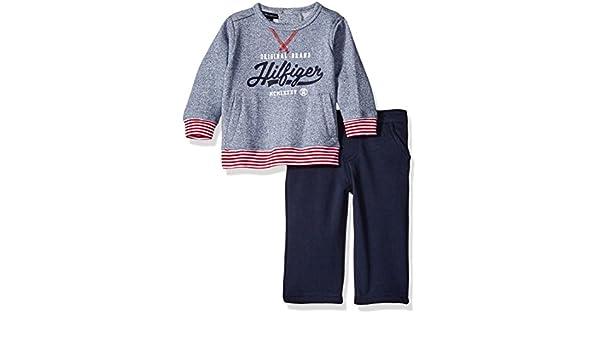 Tommy Hilfiger - Conjunto Deportivos - para bebé niño Azul Azul 6-9 Meses: Amazon.es: Ropa y accesorios