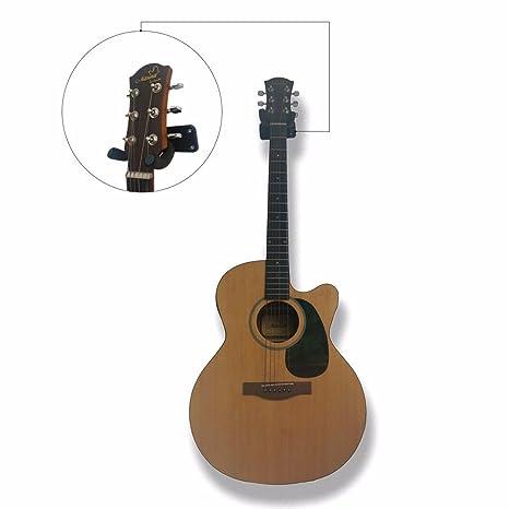 iiniim Guitarra Plana 2/5 pieza Guitarra Colgador Gancho Soporte ...