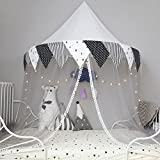 T- Corner Tents For Kids Bed Tent Corner Indoor Cotton Lace Hanging Wall For Baby Kids Reading Play Game Tents(Only One Tent) ( Color : #A , Size : L )