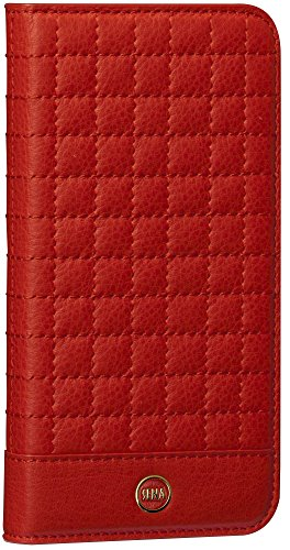 Sena Red Quilted Wallet, Premium quality quilted wallet case for the iPhone 6/6s - - Stand Premium Sena Case