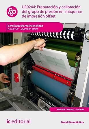 Preparación y calibración del grupo de presión en máquinas de ...