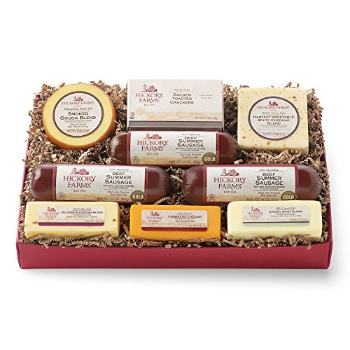 Hickory Farms Hearty Selection Christmas Gift Baskets