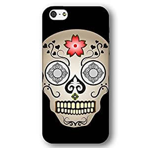 Day of the Dead Sugar Candy Skull For Iphone 6Plus 5.5Inch Case Cover lim Phone Case