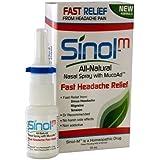 Sinol Headache Relief Spray, Migraine Cluster Tension (15 ml)